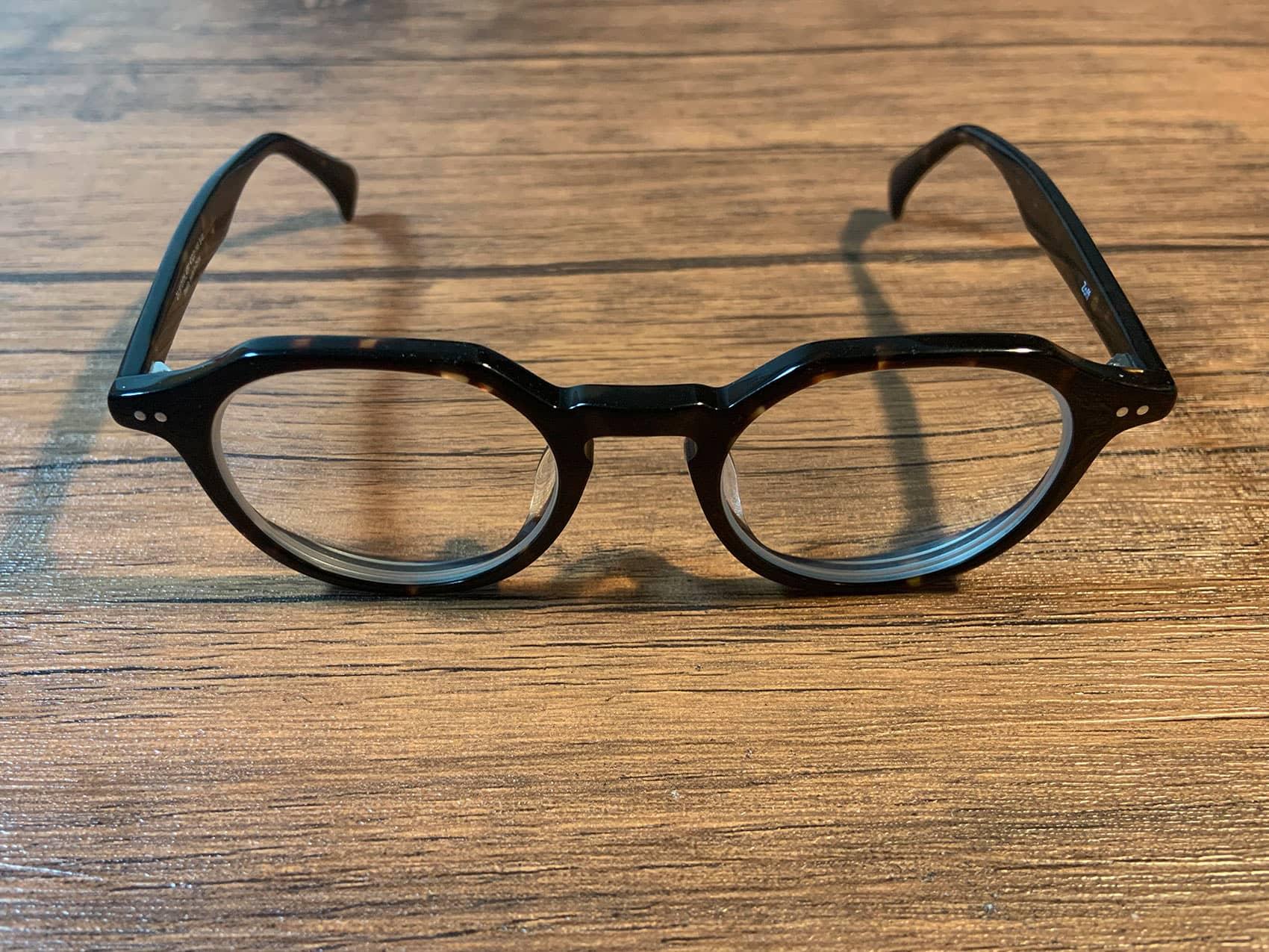 曇り止めレンズ搭載メガネ
