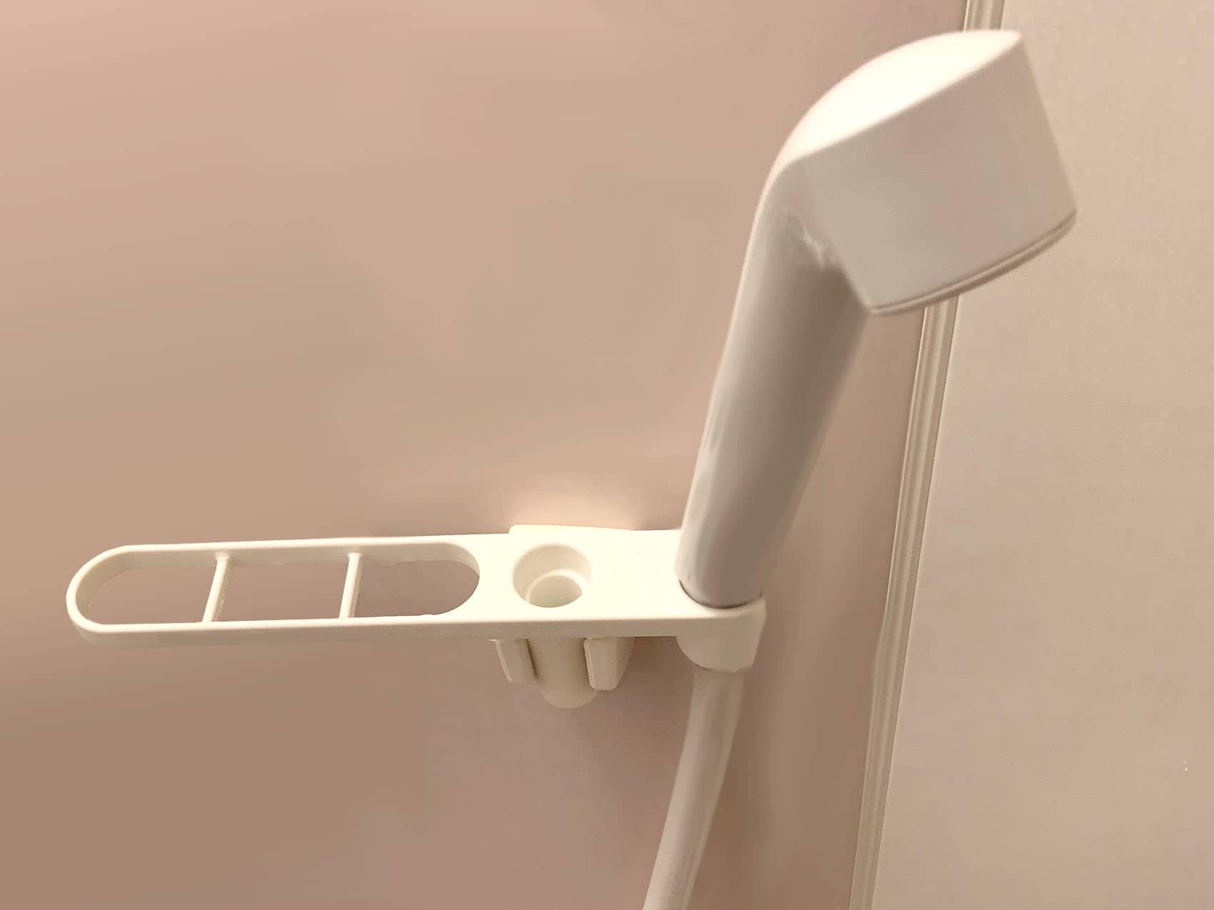 シャワーフックもそのまま使えます