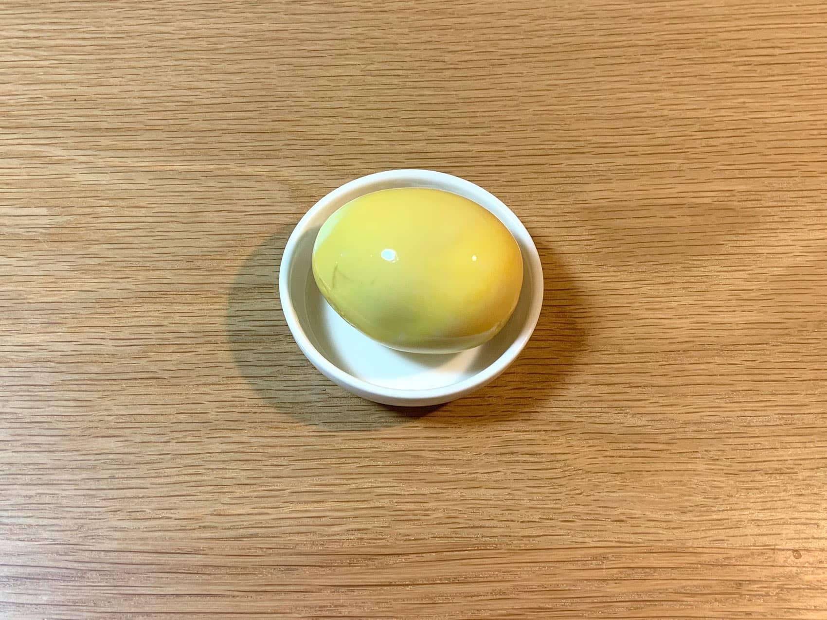 カレー味玉の完成!